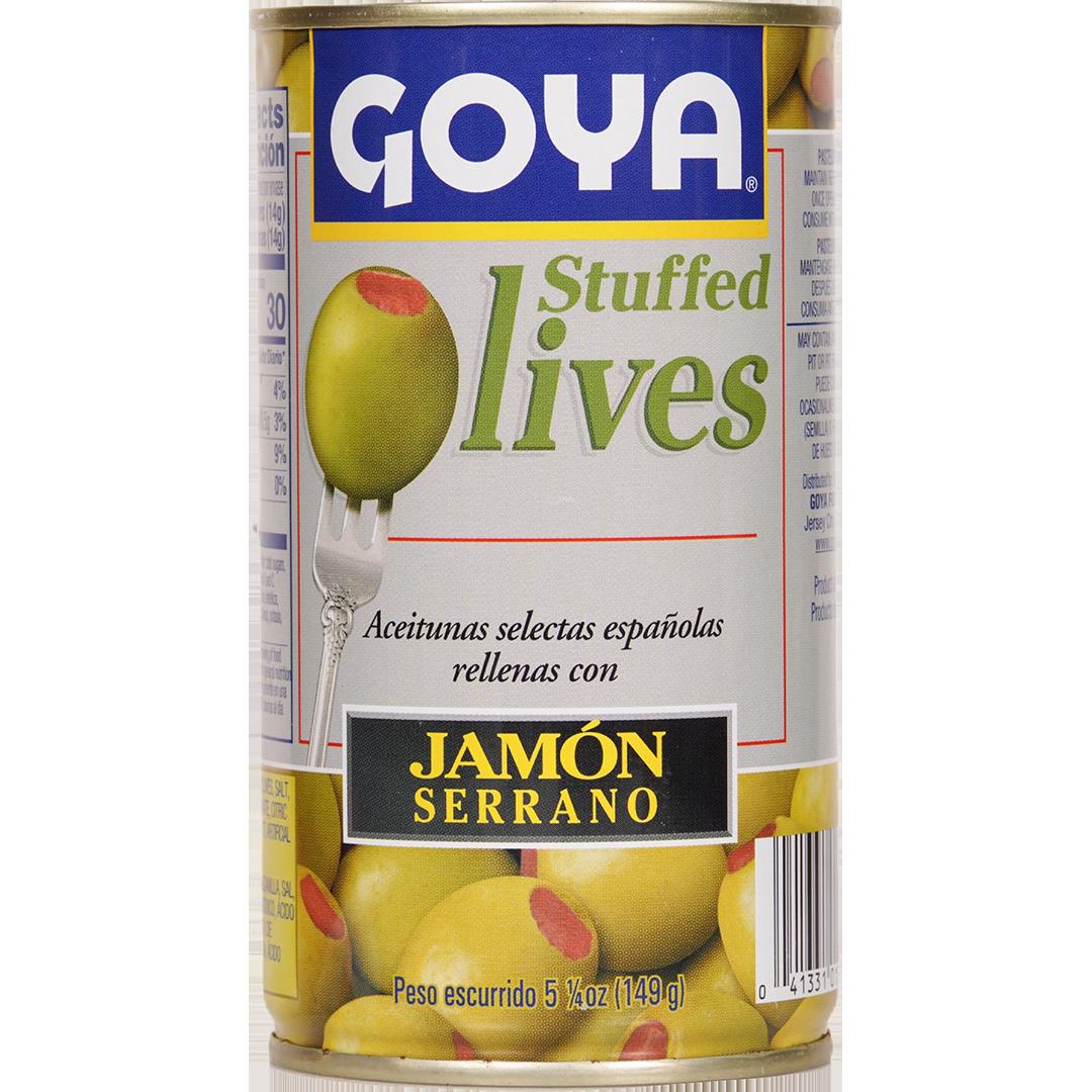 Goya Stuffed Olives Jamon Serrano Itam