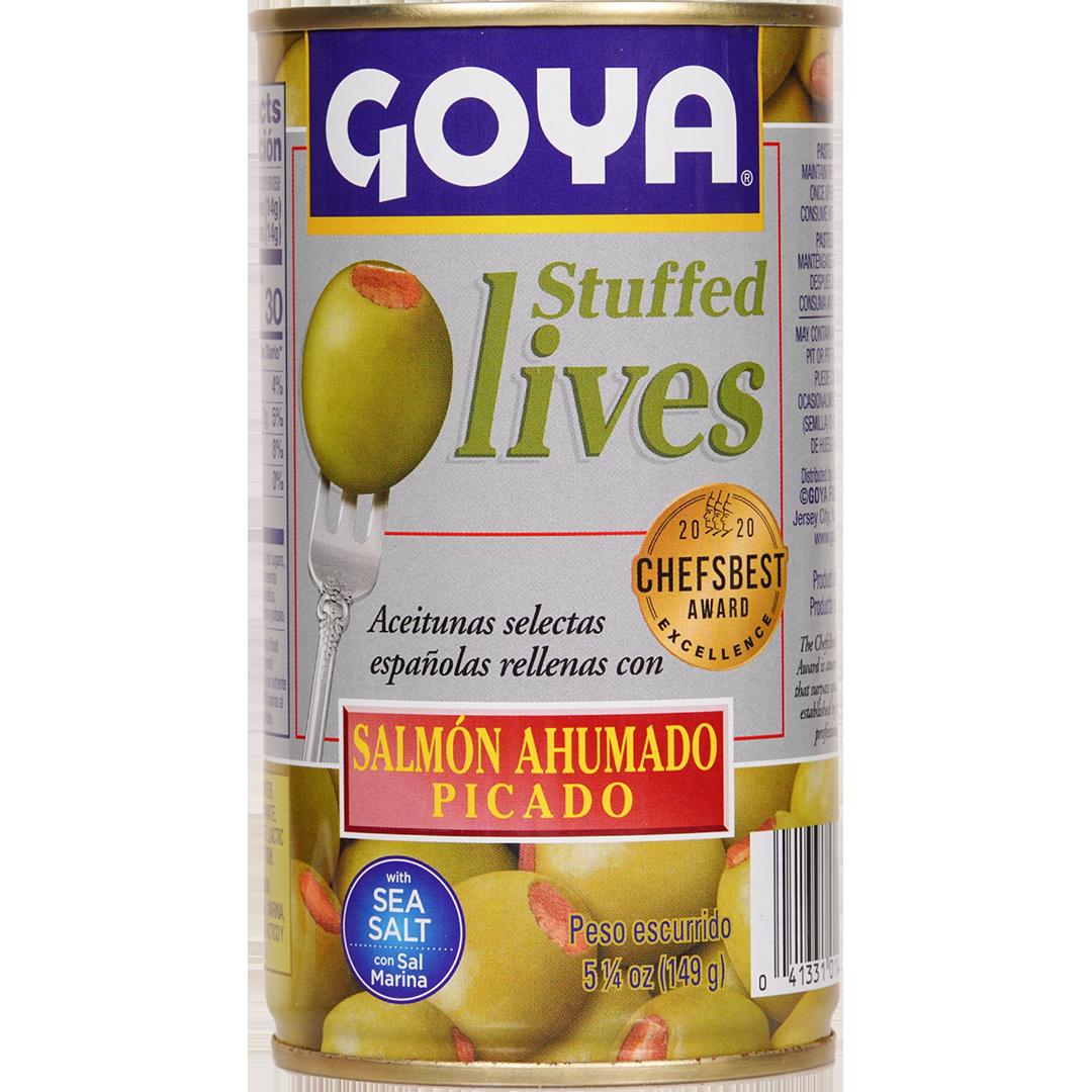 Goya Stuffed Olives Minced Smoked Slamon